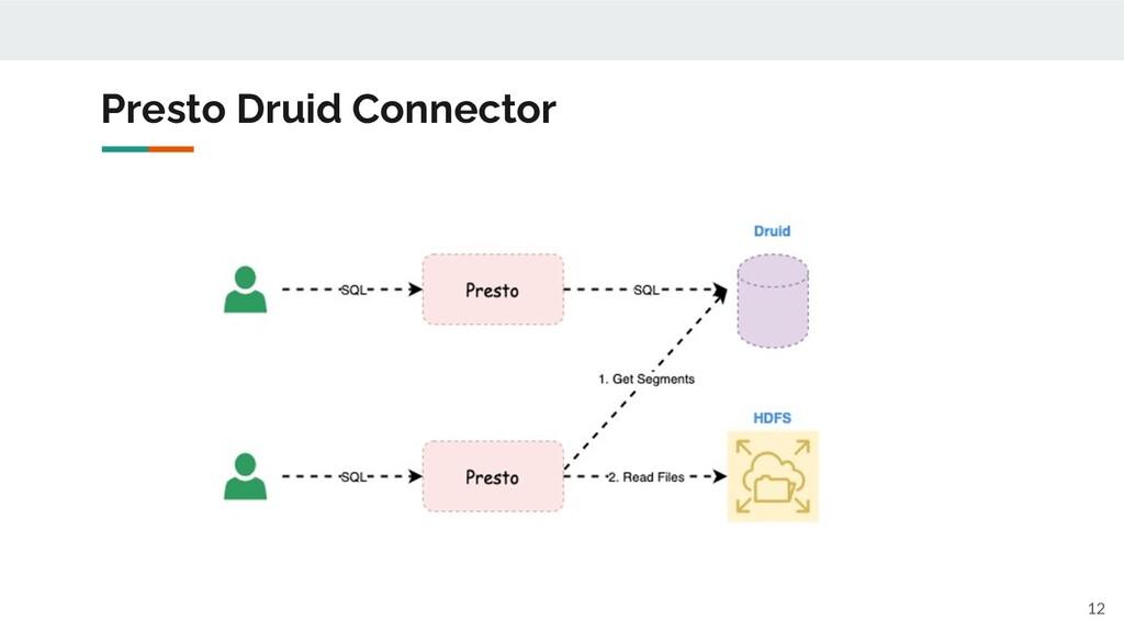 Presto Druid Connector 12