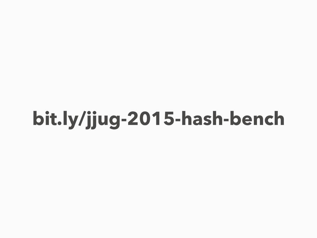 bit.ly/jjug-2015-hash-bench