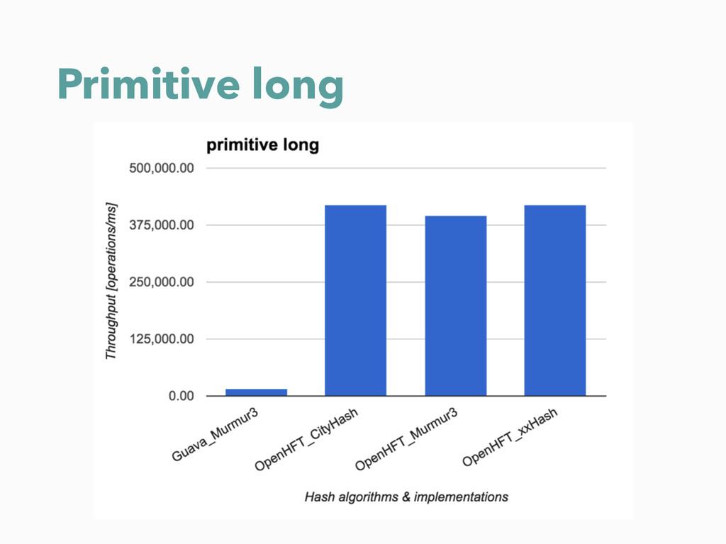 Primitive long
