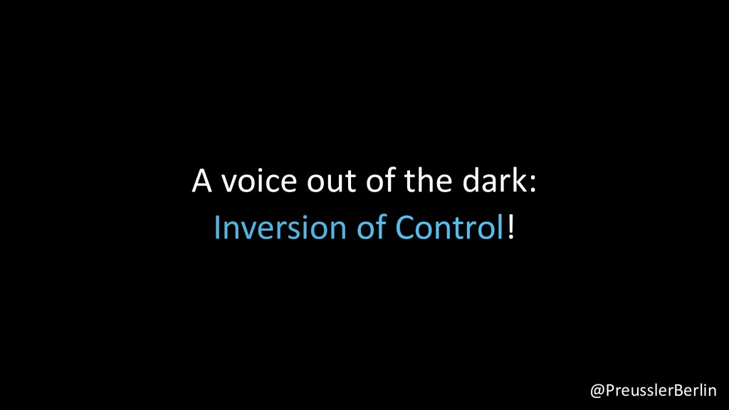 @PreusslerBerlin A voice out of the dark: Inver...