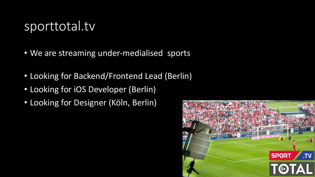 sporttotal.tv • We are streaming under-medialis...