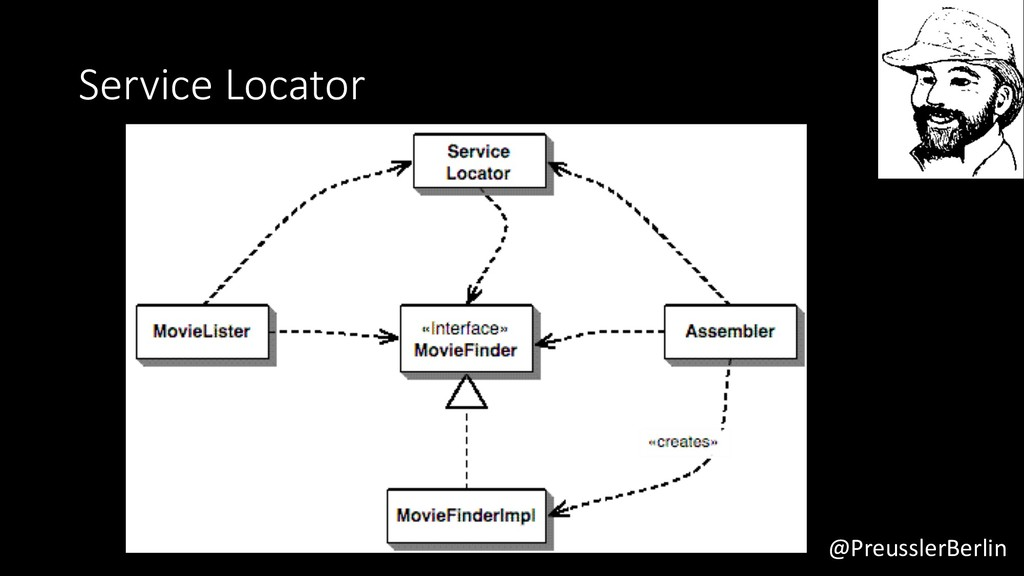 @PreusslerBerlin Service Locator