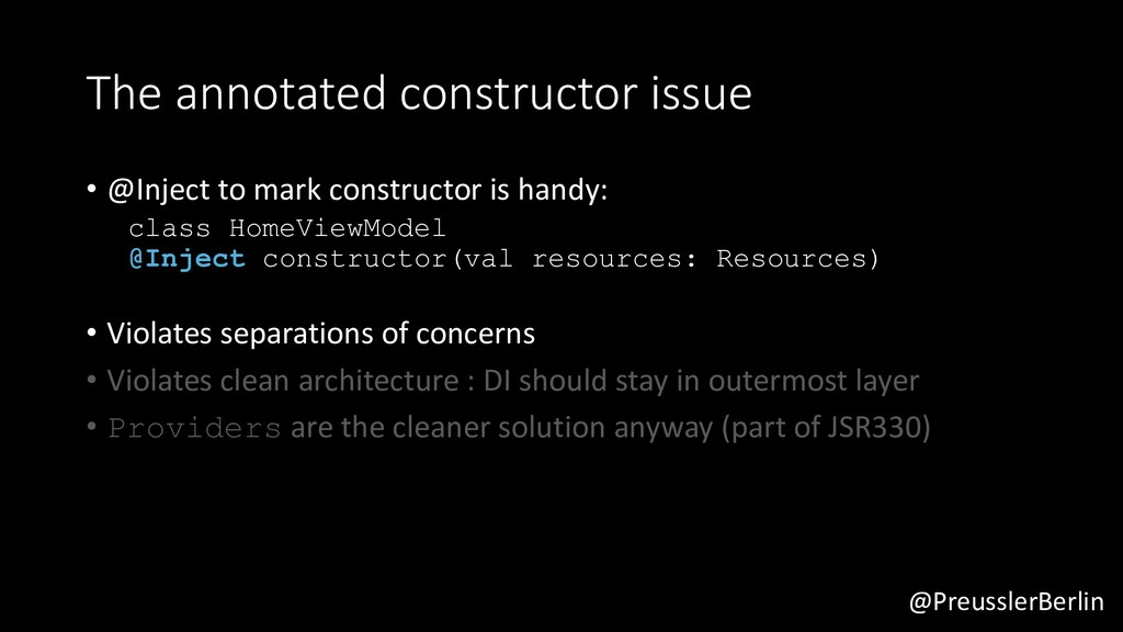 @PreusslerBerlin The annotated constructor issu...