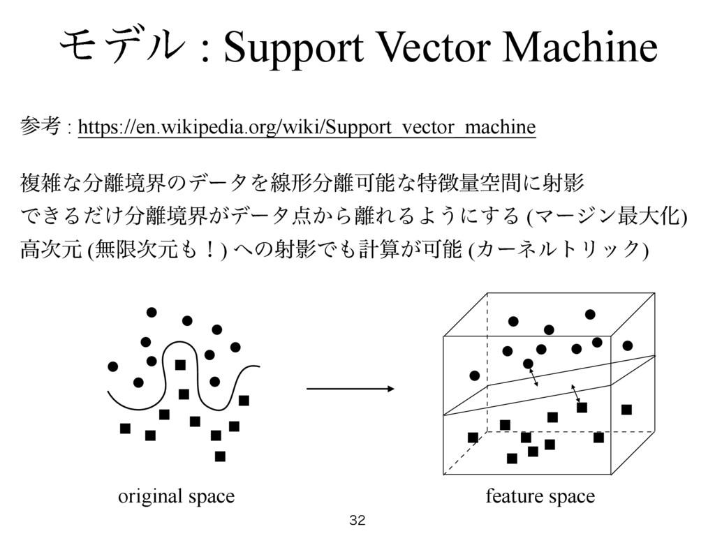 Ϟσϧ : Support Vector Machine  ߟ : https://en...