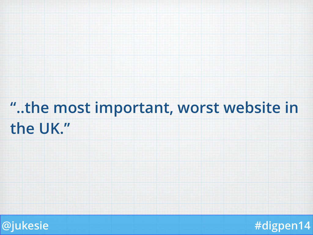 """@jukesie #digpen14 """"..the most important, worst..."""