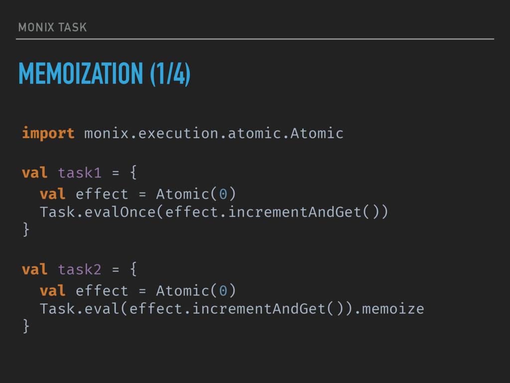 MONIX TASK MEMOIZATION (1/4) import monix.execu...