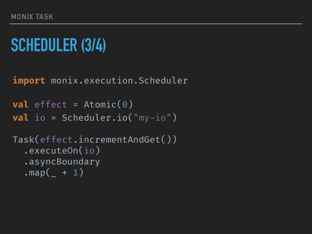 MONIX TASK SCHEDULER (3/4) import monix.executi...
