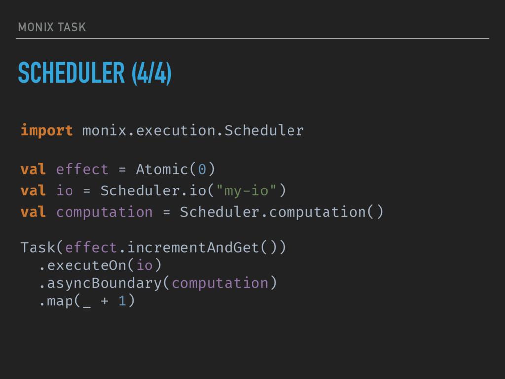 MONIX TASK SCHEDULER (4/4) import monix.executi...