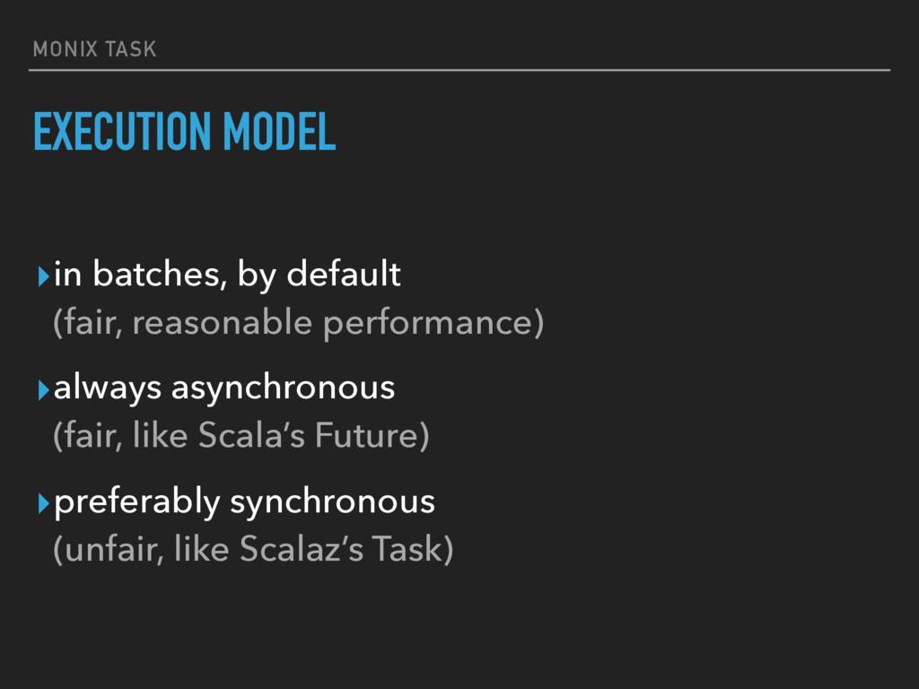 MONIX TASK ▸in batches, by default (fair, reas...