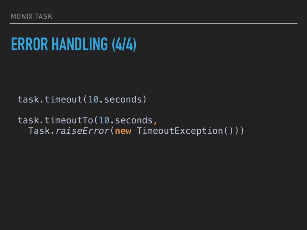 MONIX TASK ERROR HANDLING (4/4) task.timeout(10...