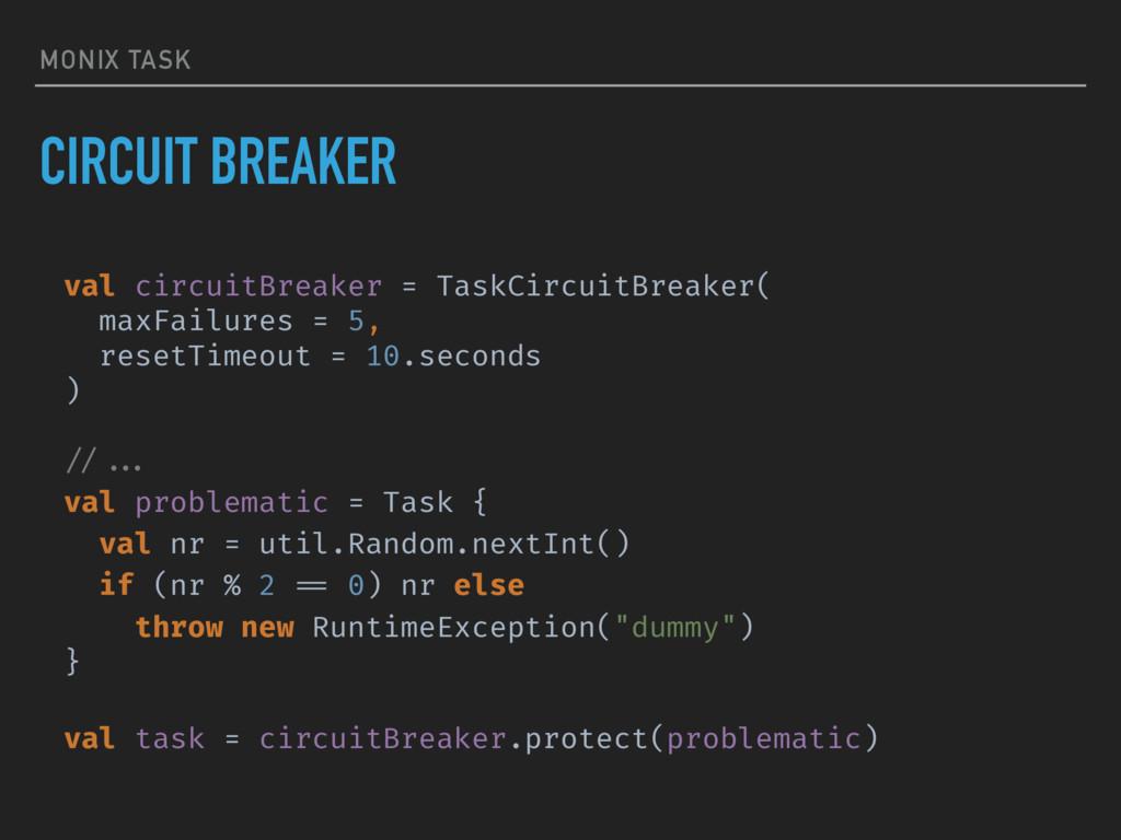 MONIX TASK CIRCUIT BREAKER val circuitBreaker =...