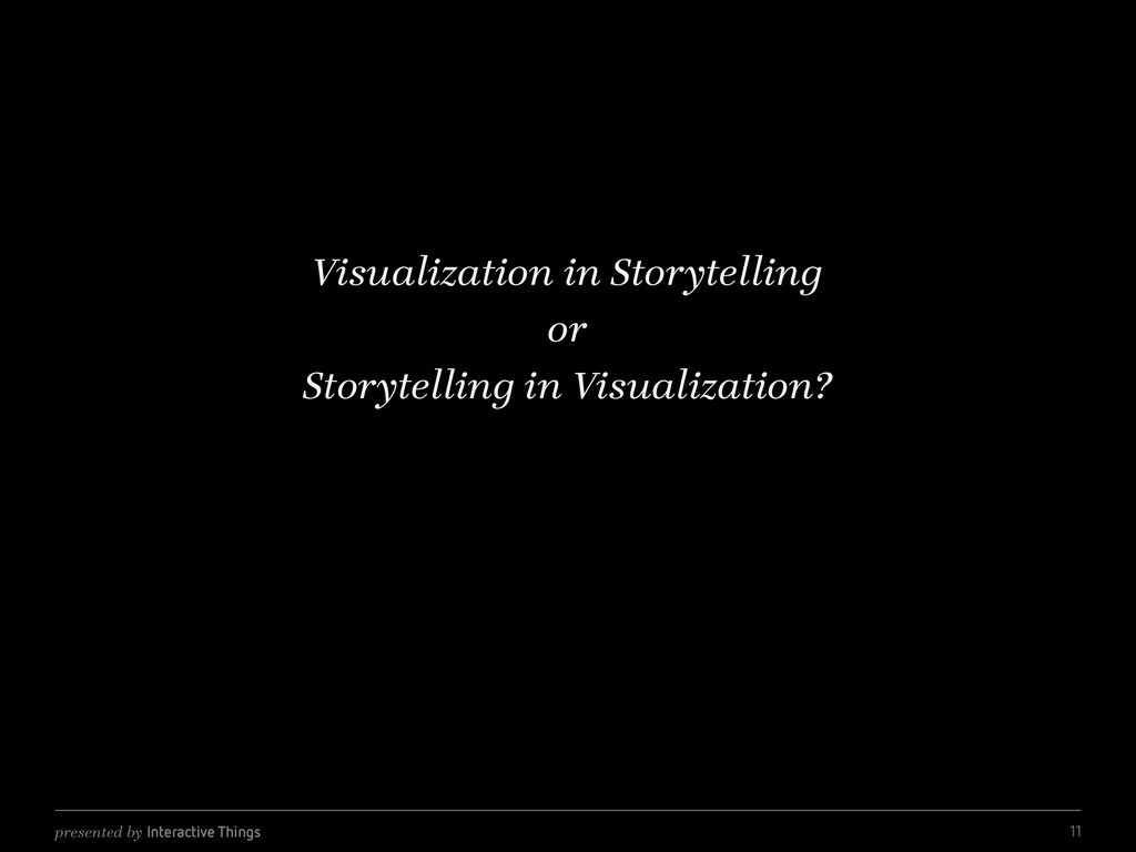 presented by Interactive Things Visualization i...