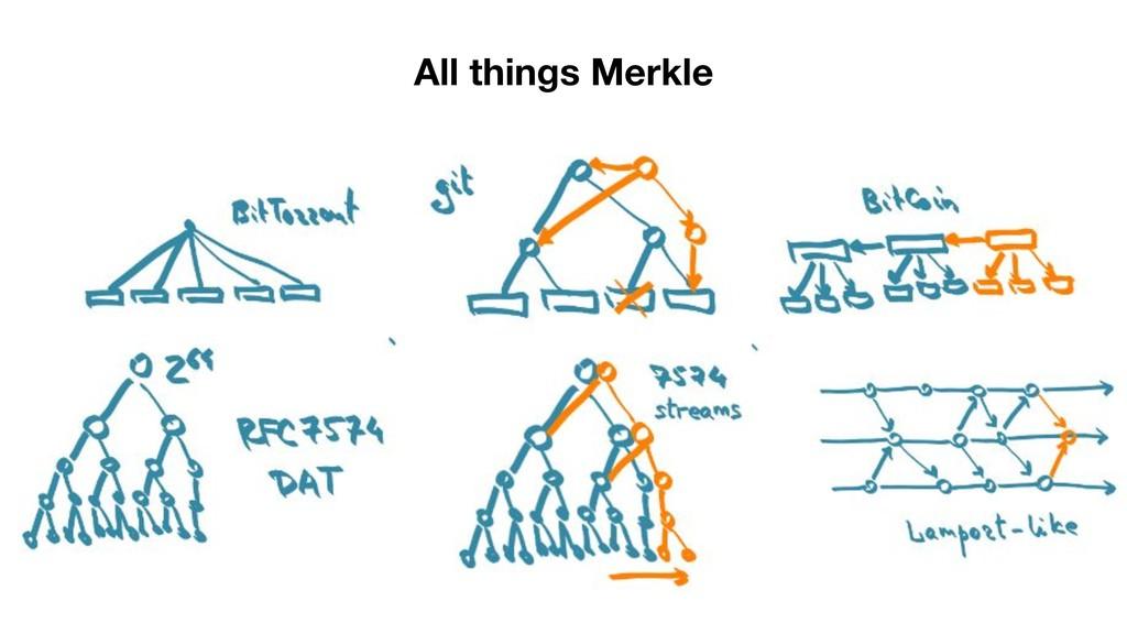 All things Merkle
