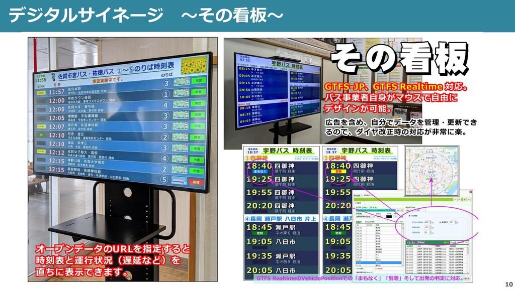 デジタルサイネージ ~その看板~ 10 佐賀駅バスセンター