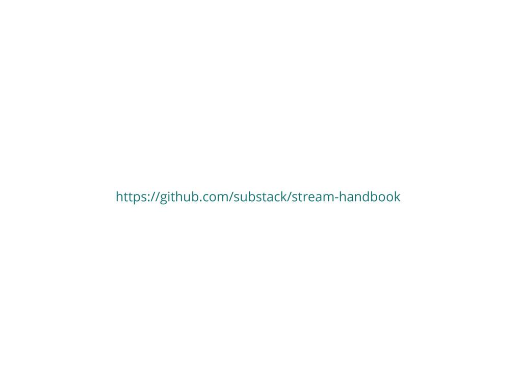 https://github.com/substack/stream-handbook