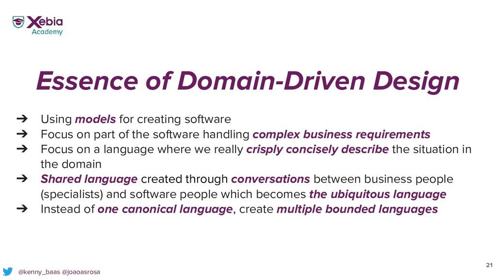 21 @kenny_baas @joaoasrosa Essence of Domain-Dr...