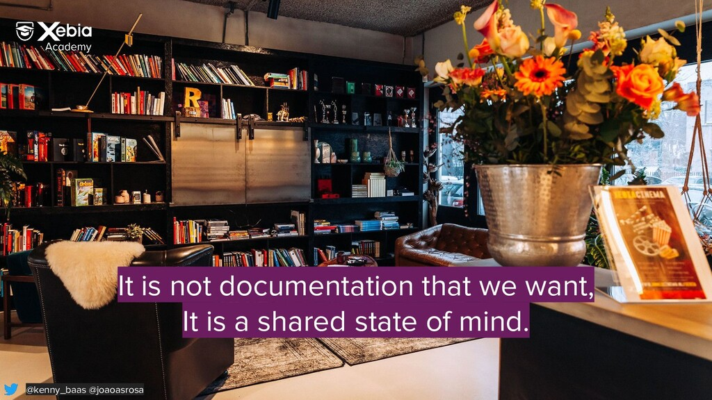 It is not documentation that we want, It is a s...