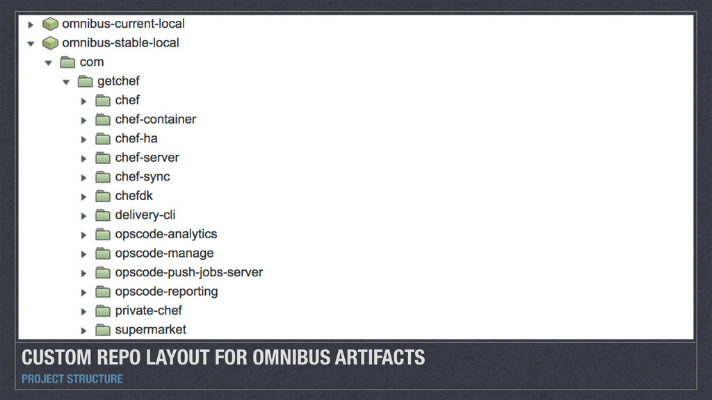 CUSTOM REPO LAYOUT FOR OMNIBUS ARTIFACTS PROJEC...