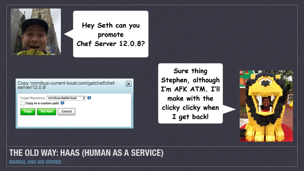 THE OLD WAY: HAAS (HUMAN AS A SERVICE) MANUAL A...