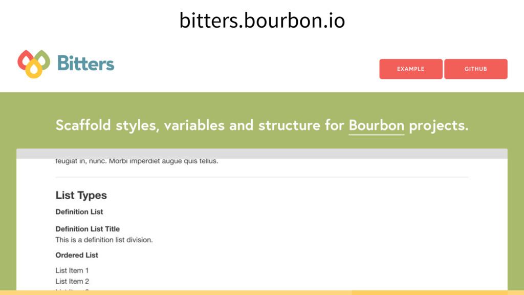 bitters.bourbon.io