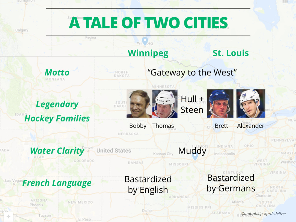 @mattphilip #prdcdeliver A TALE OF TWO CITIES L...