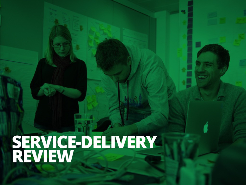 SERVICE-DELIVERY REVIEW