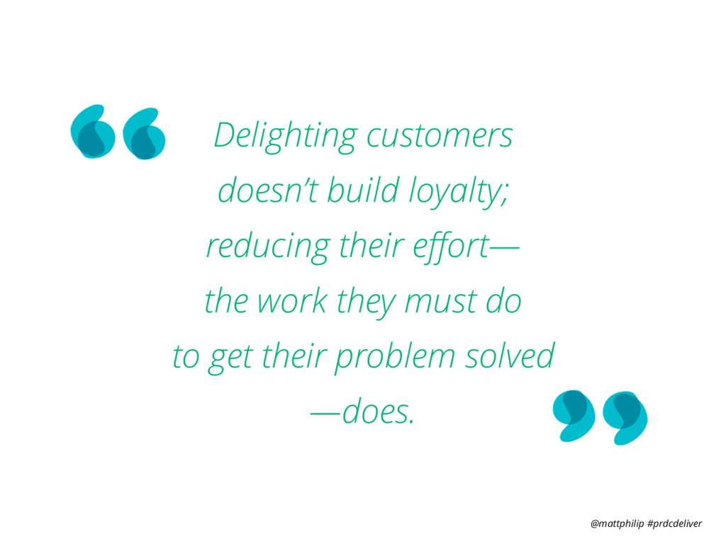@mattphilip #prdcdeliver Delighting customers ...