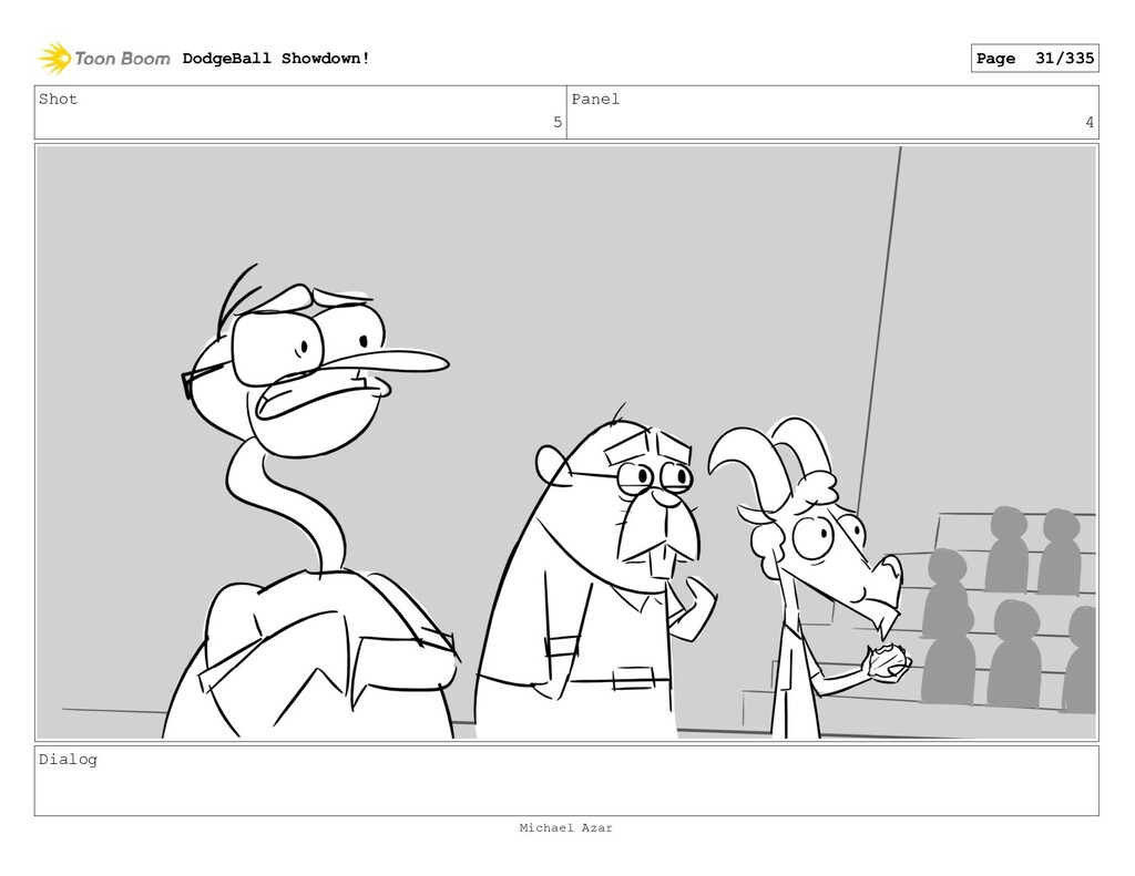 Shot 5 Panel 4 Dialog DodgeBall Showdown! Page ...
