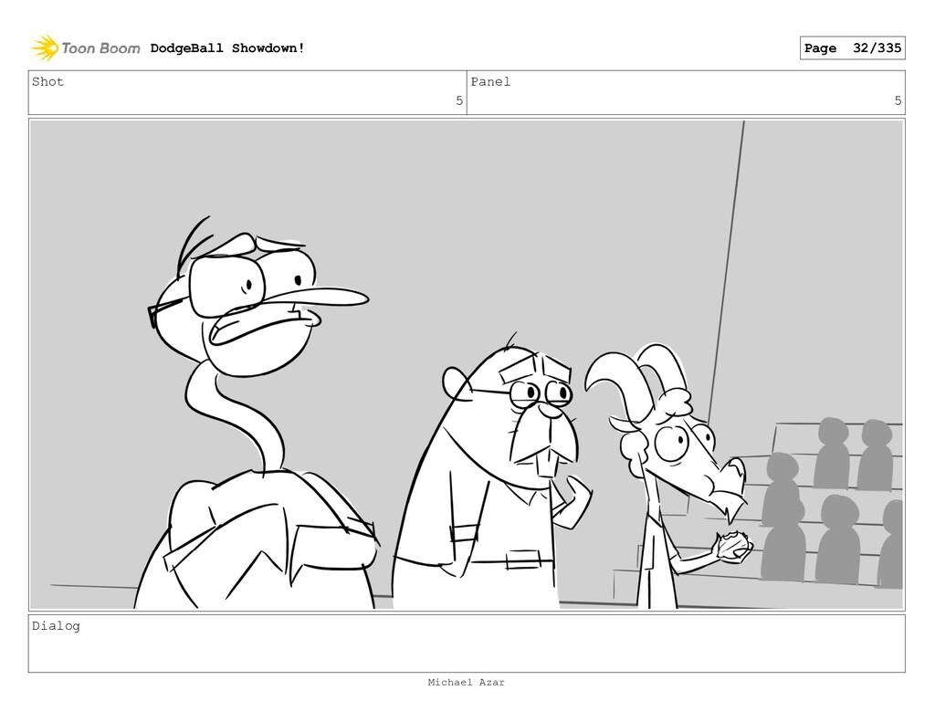 Shot 5 Panel 5 Dialog DodgeBall Showdown! Page ...
