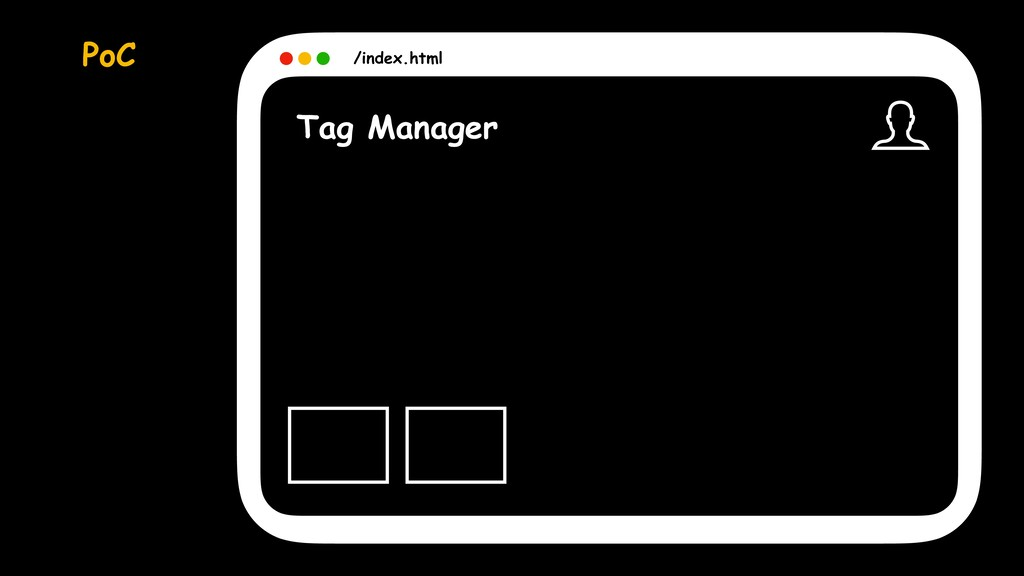 Tag Manager /index.html PoC