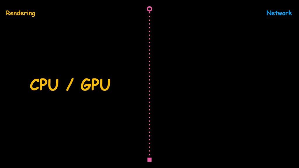 Network Rendering CPU / GPU