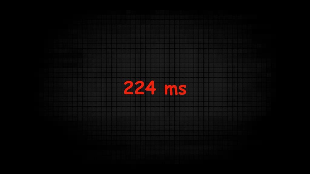 224 ms