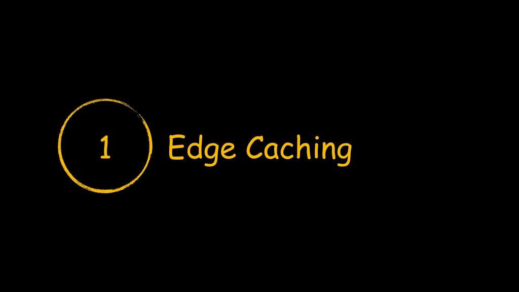 Edge Caching 1