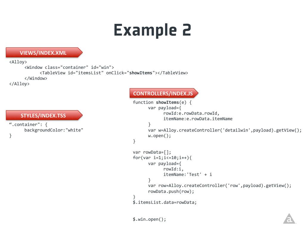 "Example 2 <Alloy>   <Window class=""con..."