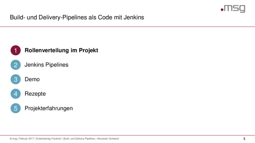 Build- und Delivery-Pipelines als Code mit Jenk...