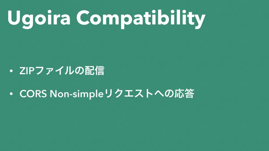 Ugoira Compatibility • ZIPϑΝΠϧͷ৴ • CORS Non-si...