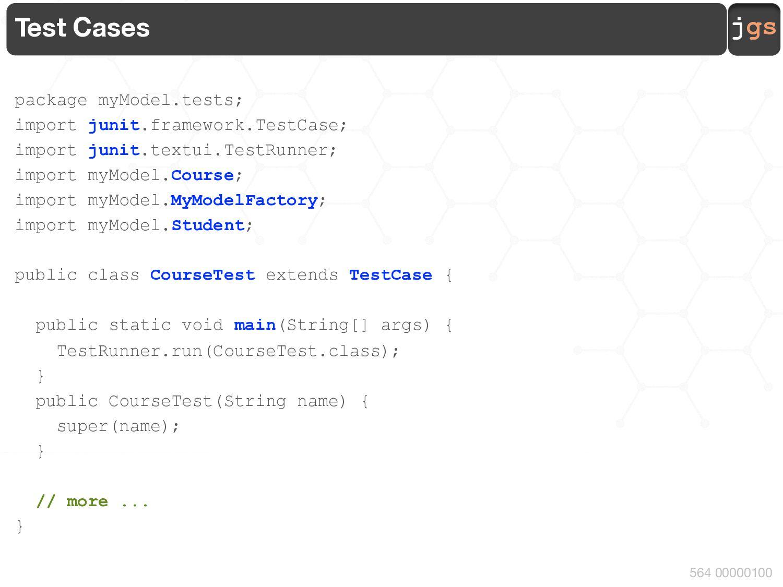 jgs 1. Define the Model