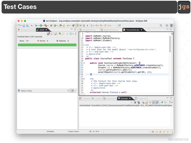 jgs 564 00010100 Step 1 :: Project § Create an ...