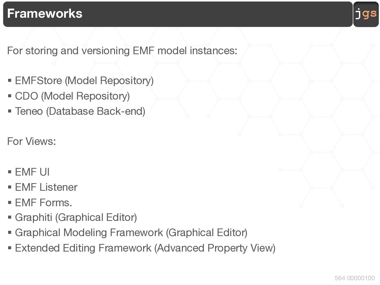 jgs 564 00010100 Step 2 :: Model :: Relationshi...