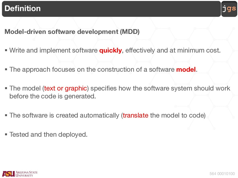 jgs 564 00010100 Definition Model-driven softwa...