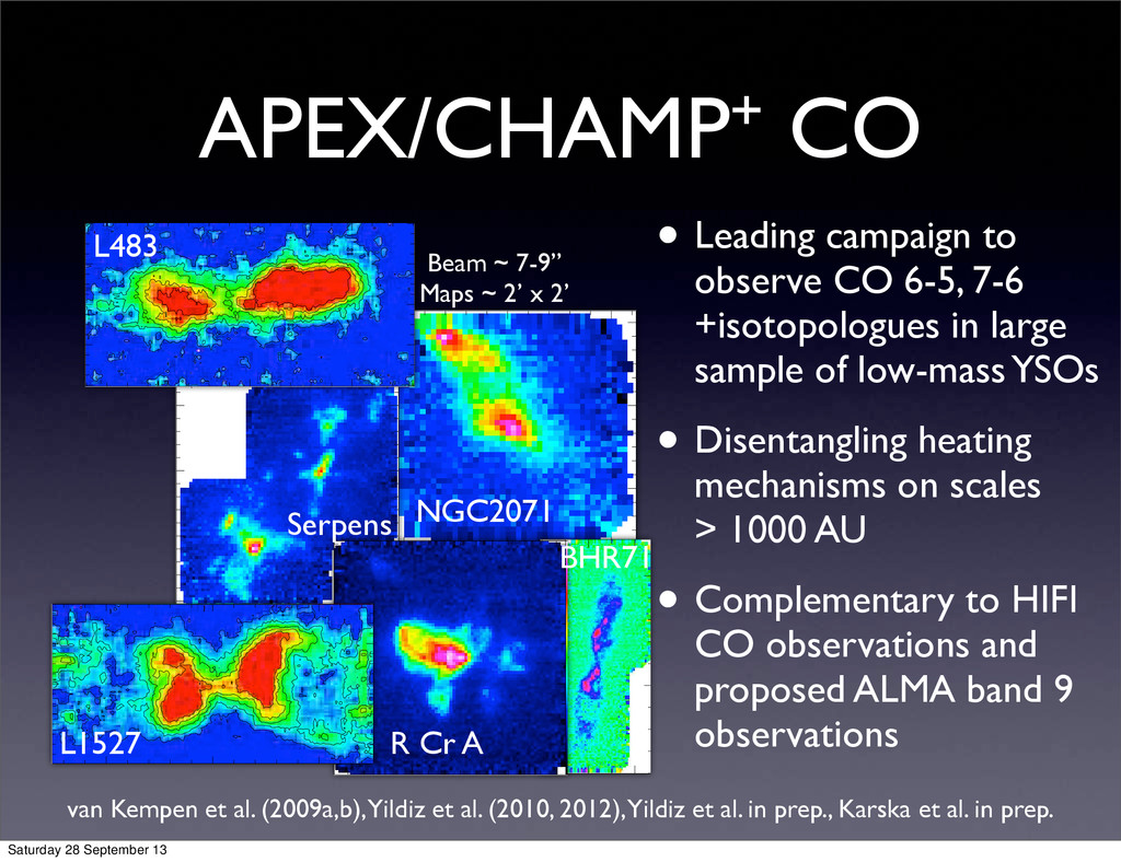 APEX/CHAMP+ CO • Leading campaign to observe CO...