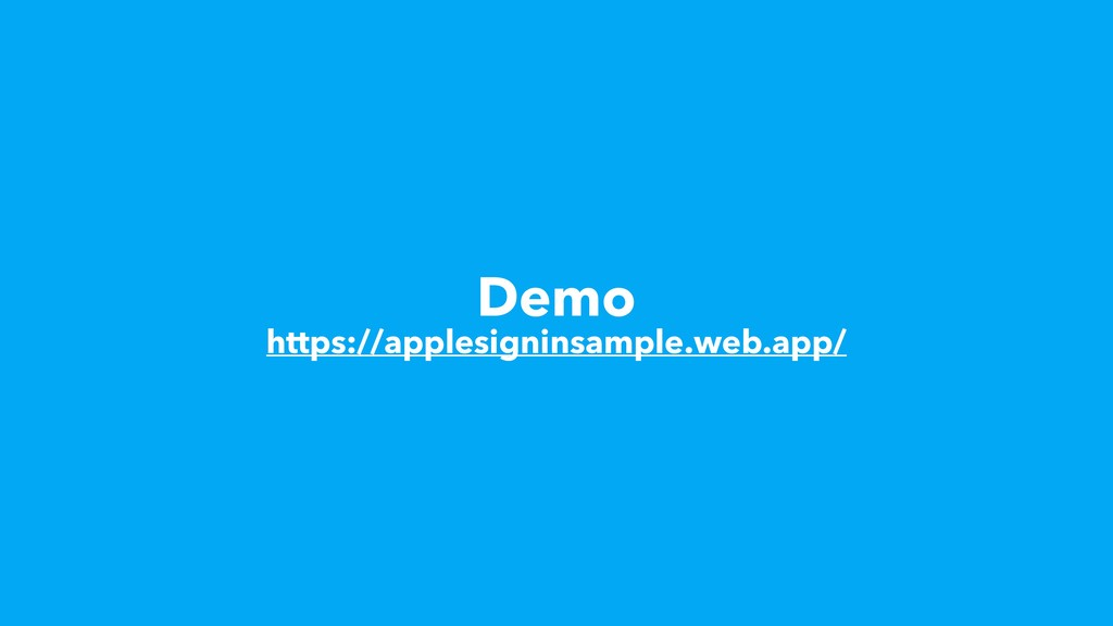 Demo https://applesigninsample.web.app/