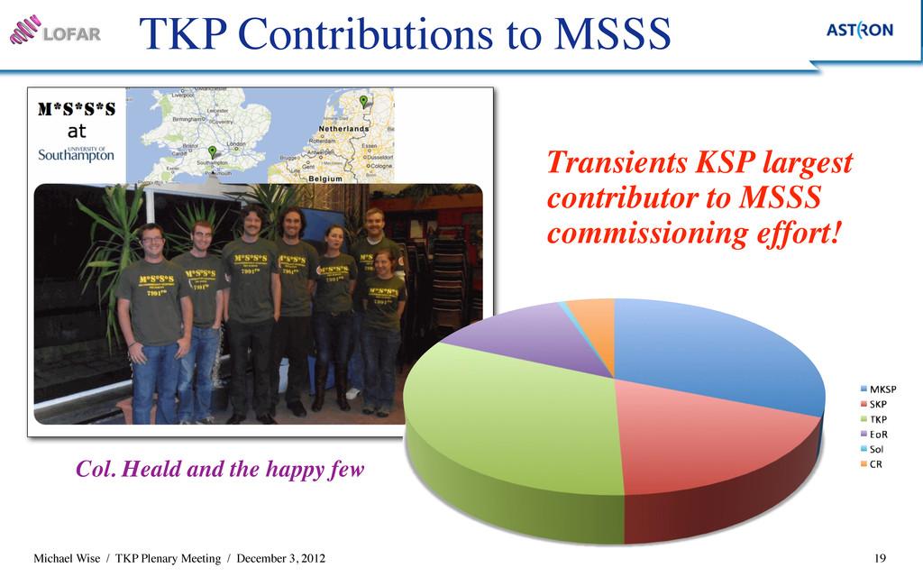 Michael Wise / TKP Plenary Meeting / December 3...