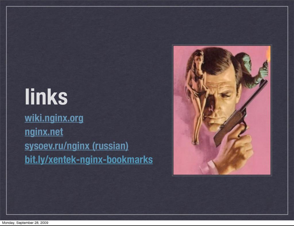 links wiki.nginx.org nginx.net sysoev.ru/nginx ...