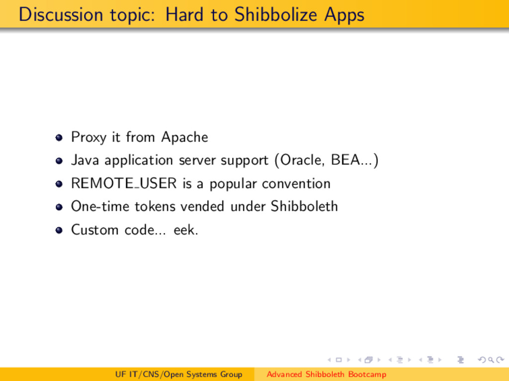 Discussion topic: Hard to Shibbolize Apps Proxy...