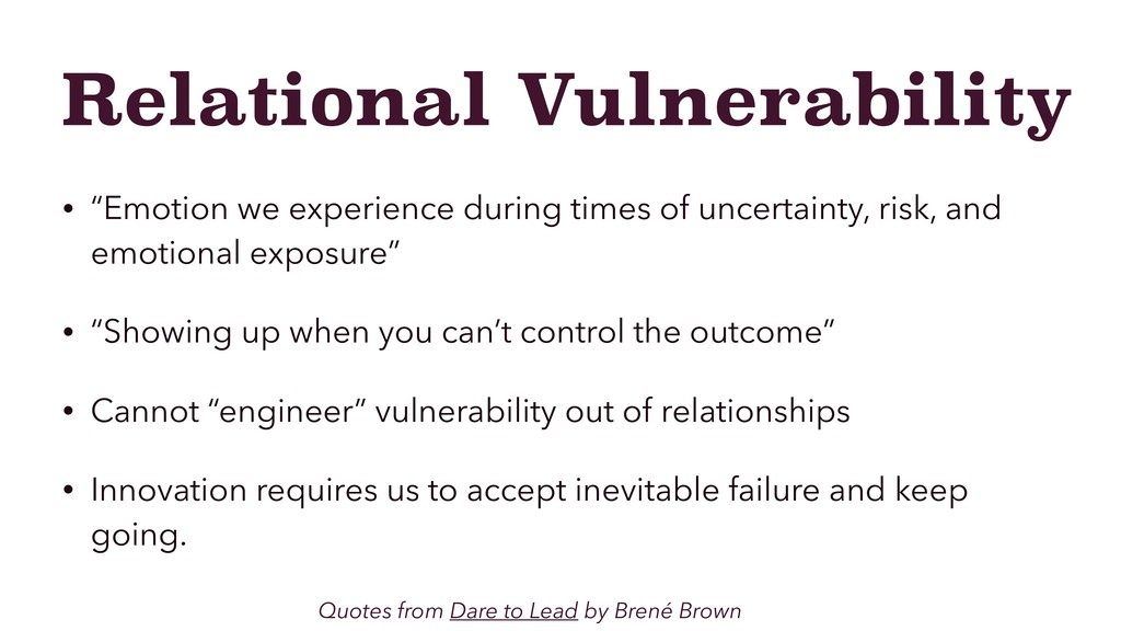 "Relational Vulnerability • ""Emotion we experien..."