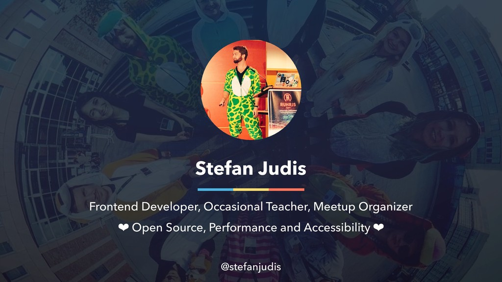 Stefan Judis Frontend Developer, Occasional Tea...