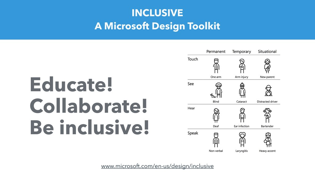 INCLUSIVE A Microsoft Design Toolkit Educate! C...