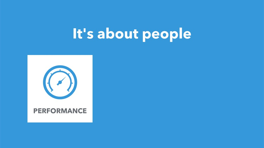 12 It's about people FOUNDER PERFORMANCE