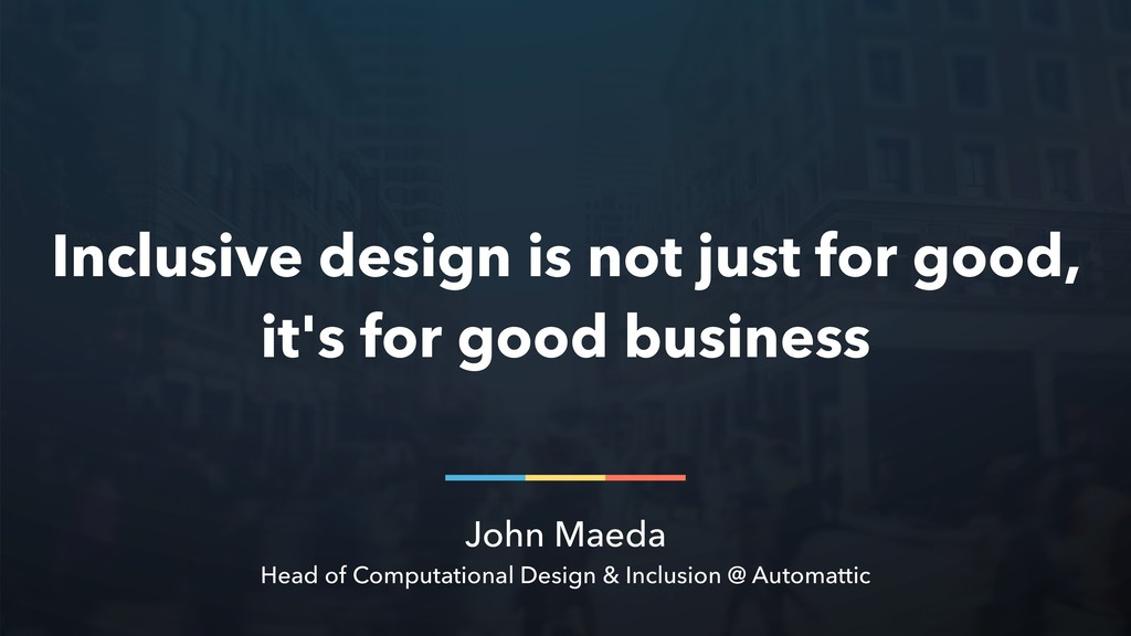 John Maeda Head of Computational Design & Inclu...